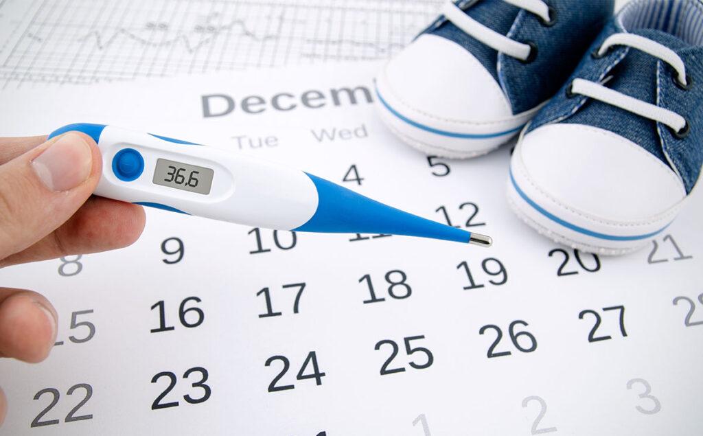 Días más fértiles de la mujer: Temperatura basal