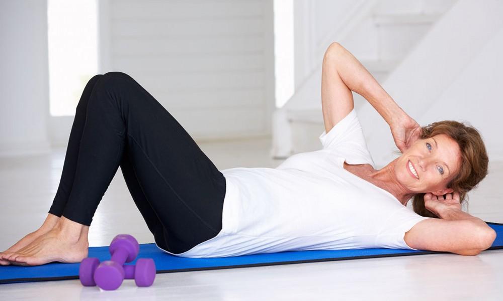 Ejercicios y posturas para prevenir la osteoporosis