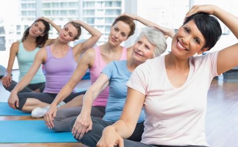 Osteoporosis: Ejercicios para hombros y cuello